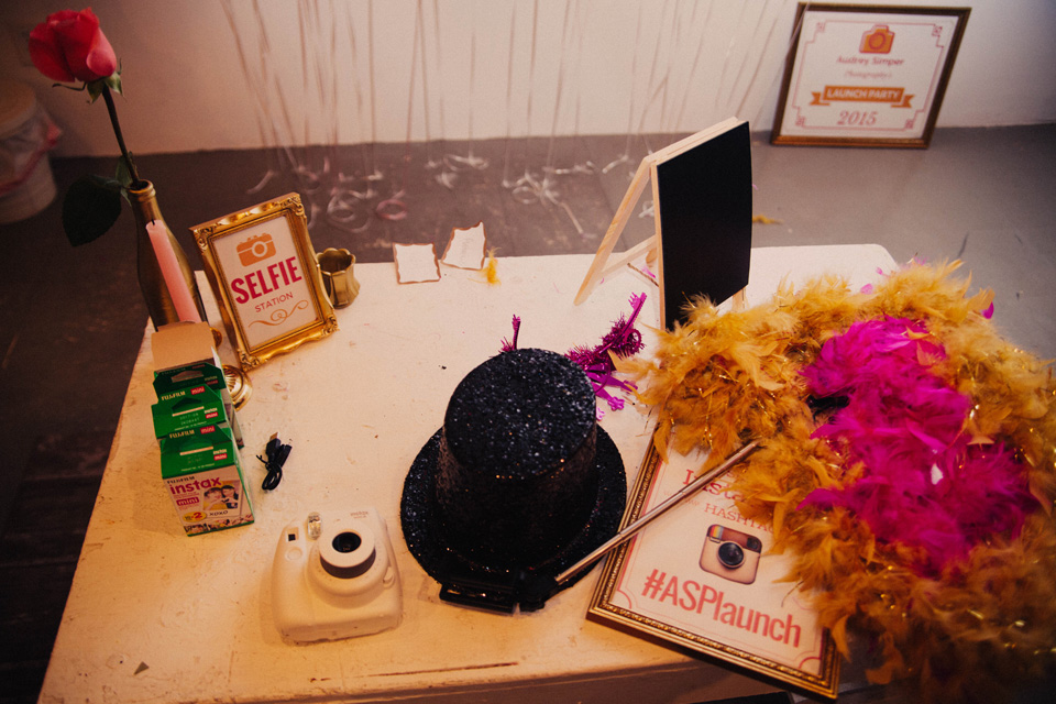 selfie station props instax polaroid