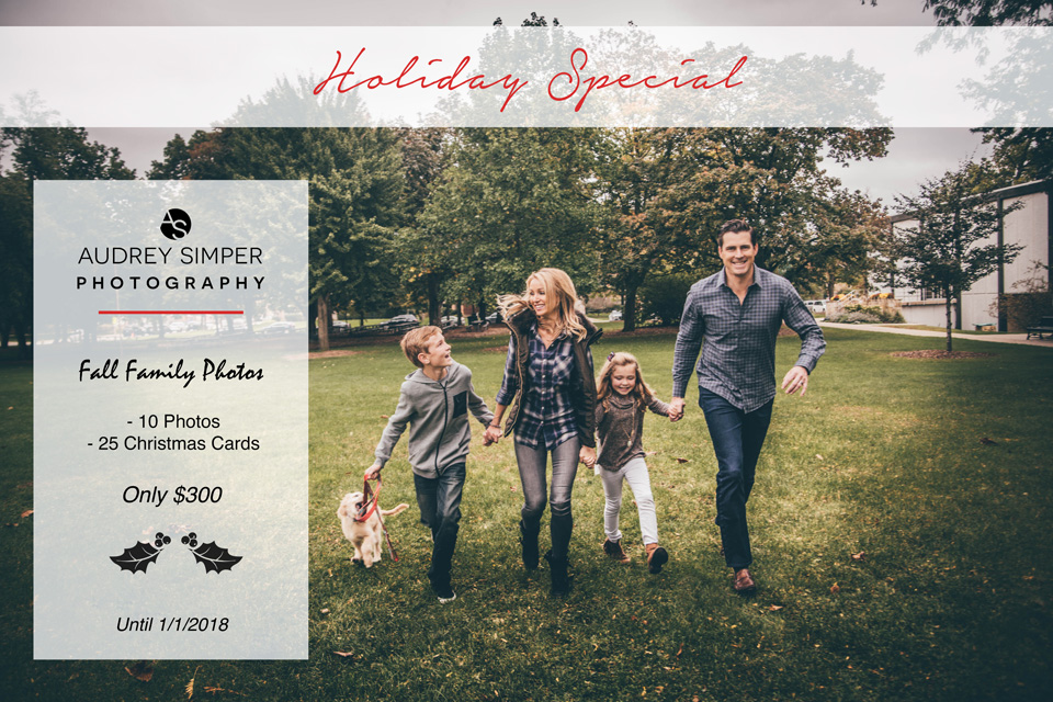 Holiday Special – Chicago Family Photography Package